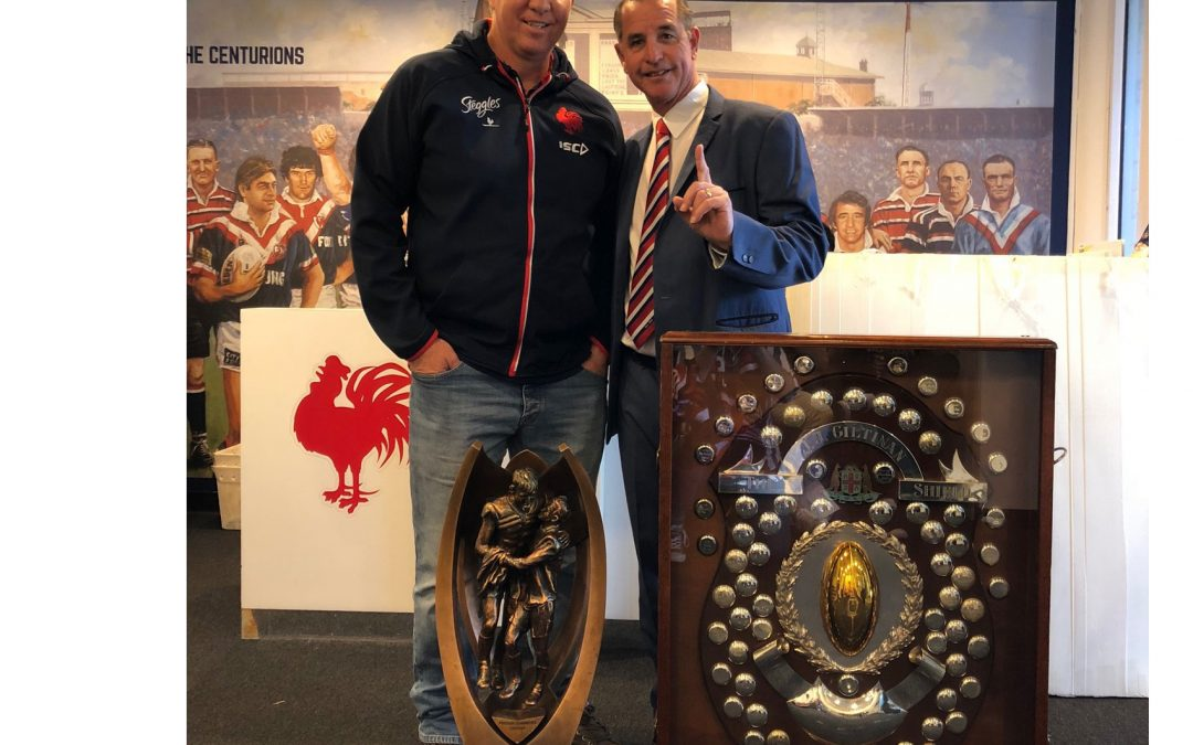 Roosters coach Trent Robinson reveals why the Coach Whisperer gives teams an 'edge'